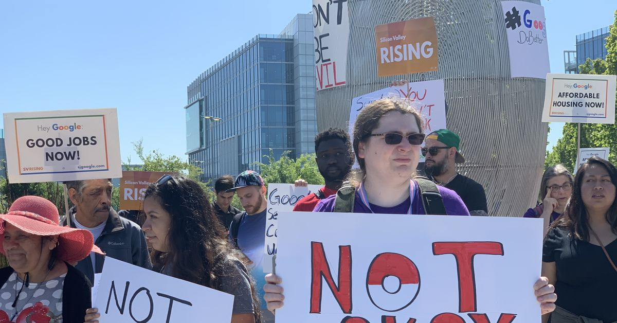 Google employees join protest at Alphabet's shareholder meeting
