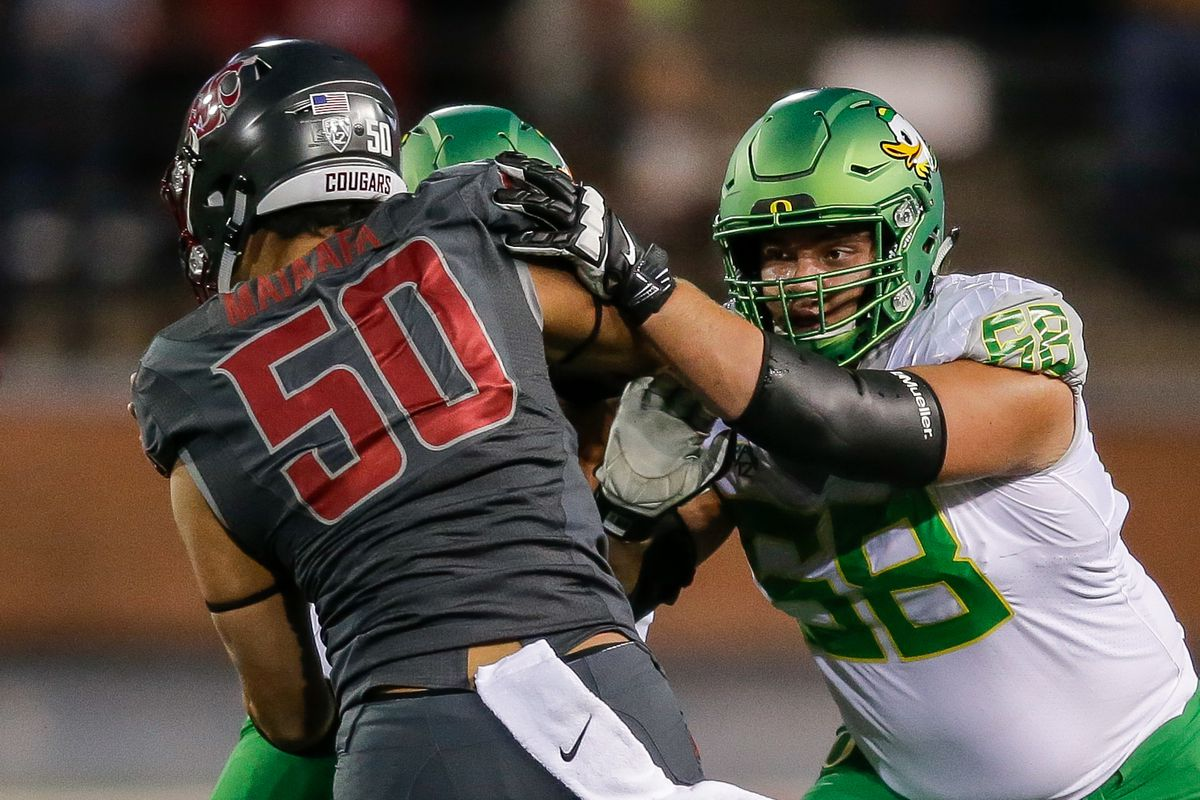 NCAA FOOTBALL: OCT 01 Oregon at Washington State
