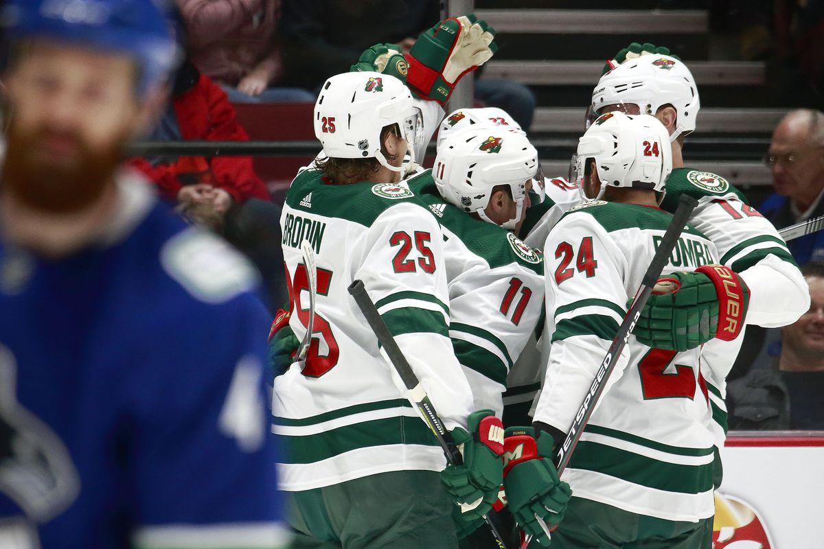 Minnesota Wild v Vancouver Canucks