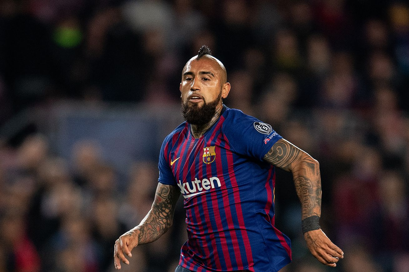 Vidal's performance a work of Art for Barca