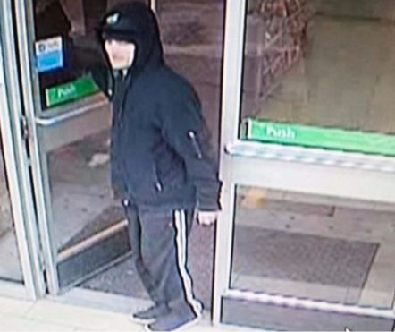 Surveillance photo of the man suspected of robbing a convenience store Jan. 10 in the 2100 block of North Clybourn. | Chicago Police