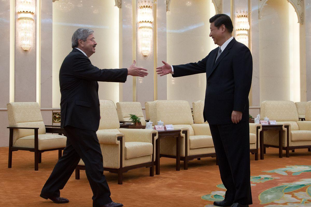American Governors Visit China