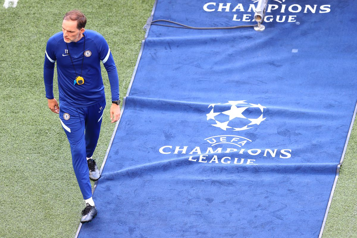 Chelsea FC Training Session and Press Conference - UEFA Champions League Final 2021