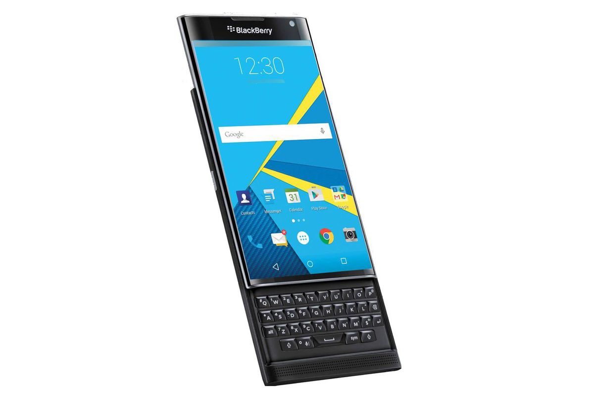 9480950835b BlackBerry's Android slider phone is called the Priv and will be available  this year