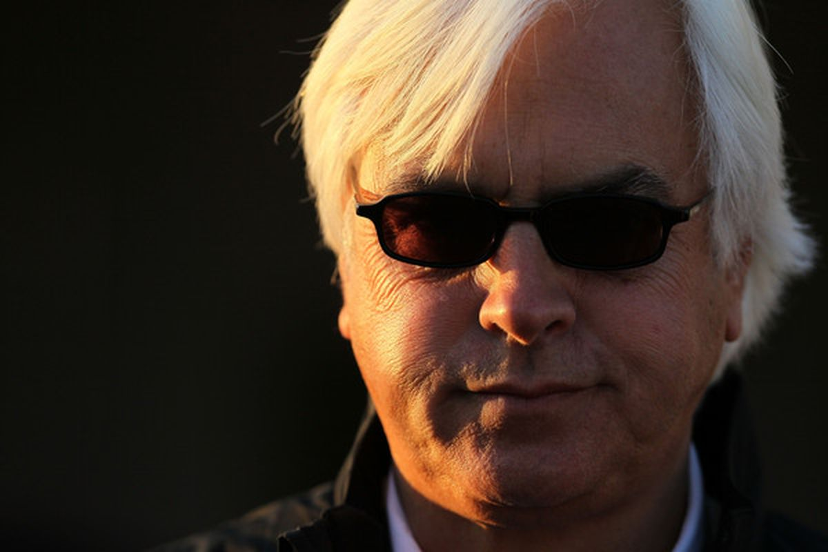 Bob Baffert, trainer of Sunland Derby contender Castaway, looks to continue his hot hand in graded stakes races.