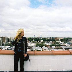 Helena Glazer, blogger behind Brooklyn Blonde: Nearby her apartment in Bensonhurst
