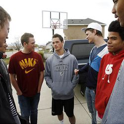 Friends of an Alta High School student who was accused of a racist stunt at school tell their point of view in Draper on Tuesday, March 29, 2011.
