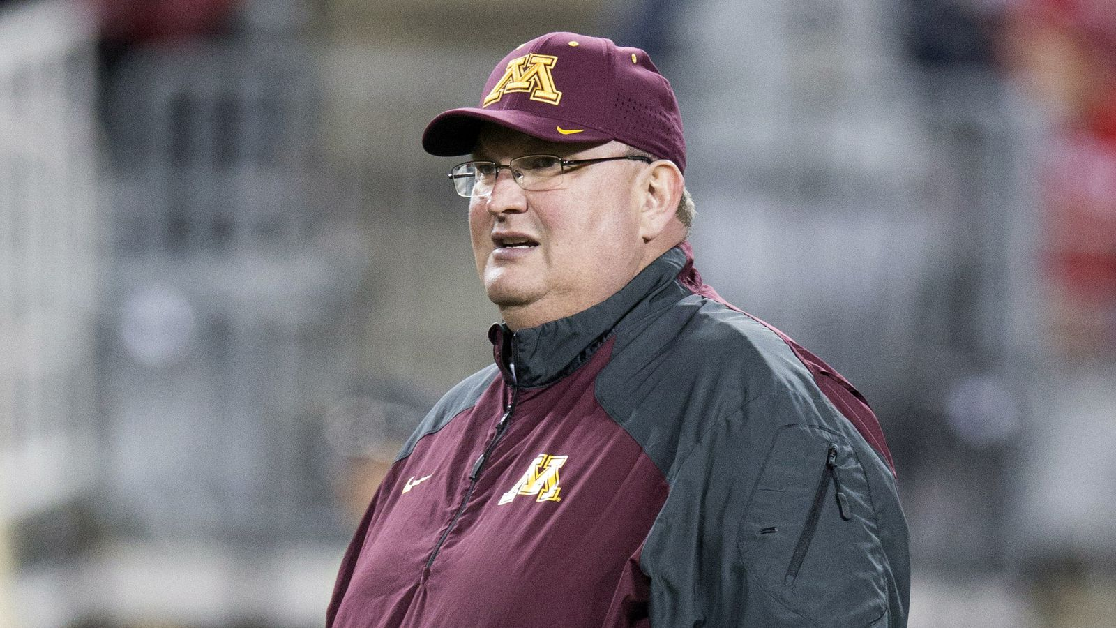 fire gophers coach tracy - HD1600×900