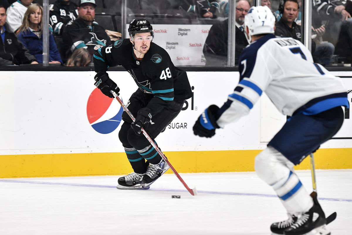 Winnipeg Jets will play the San Jose Sharks in an NHL hockey game on November 26, 2019 at SAP Center