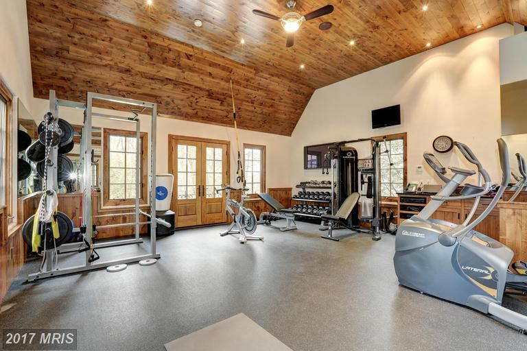 5 multi million dollar maryland homes with full gyms curbed dc