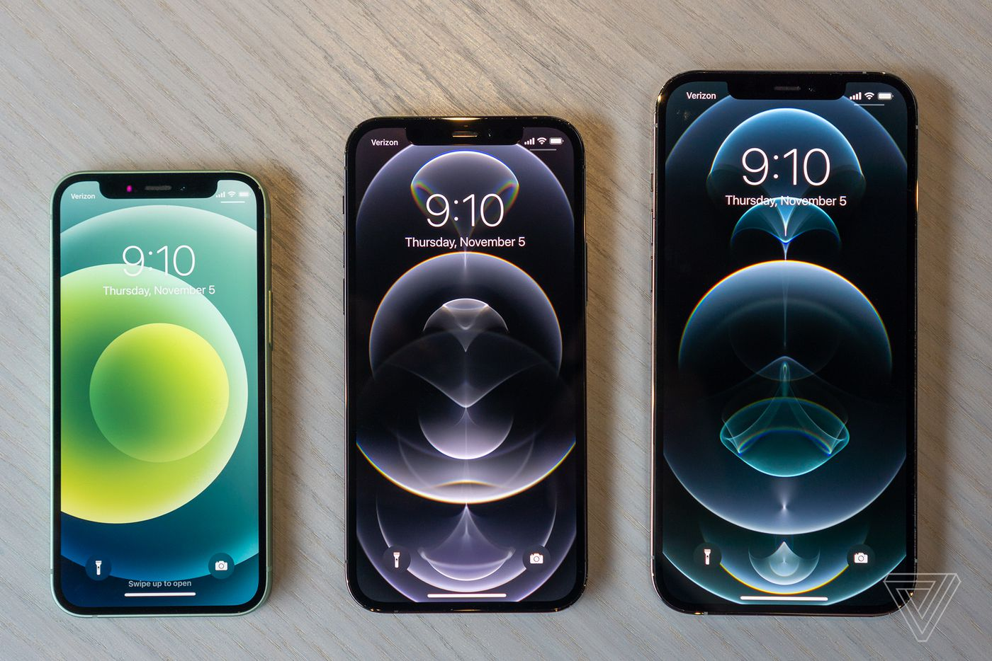Iphone 12 Mini And Iphone 12 Pro Max Hands On Impressions The Verge
