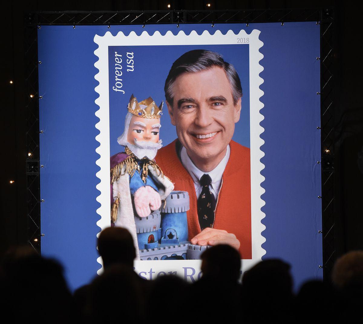 U.S. Postal Service Dedicates Mister Rogers Forever Stamp