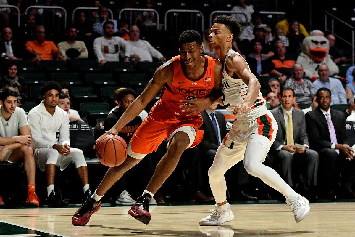 NCAA Basketball: Virginia Tech at Miami-Florida