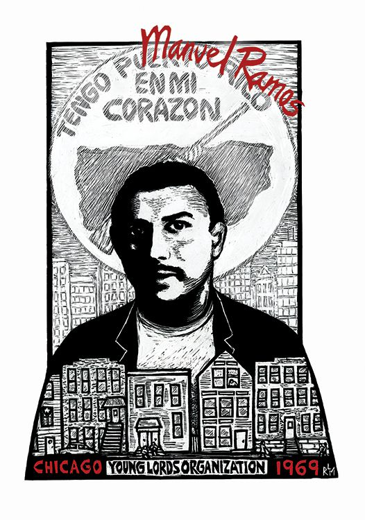 A commemoration of Manuel Ramos' life by artist Ricardo Levins Morales.