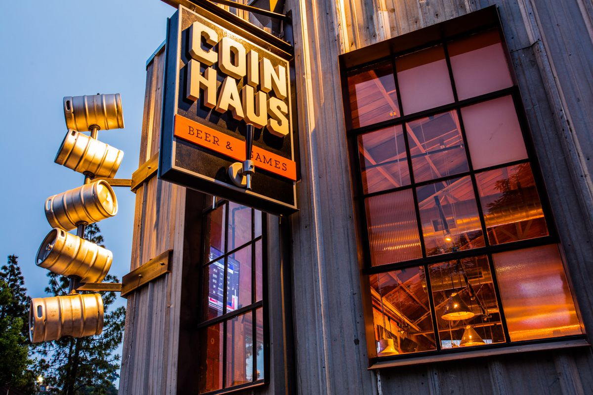 coin haus front