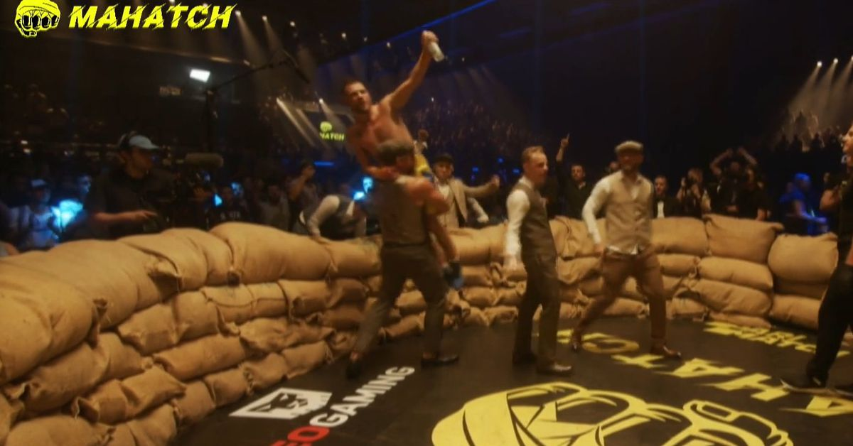 Olympic silver medalist Denys Berinchyk stops Artem Lobov in bare-knuckle bout