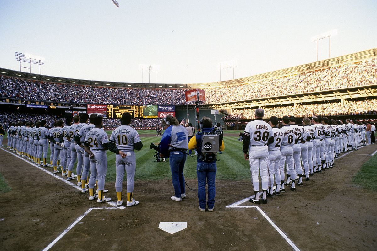 World Series:Oakland Athletics v San Francisco Giants, October 27, 1989