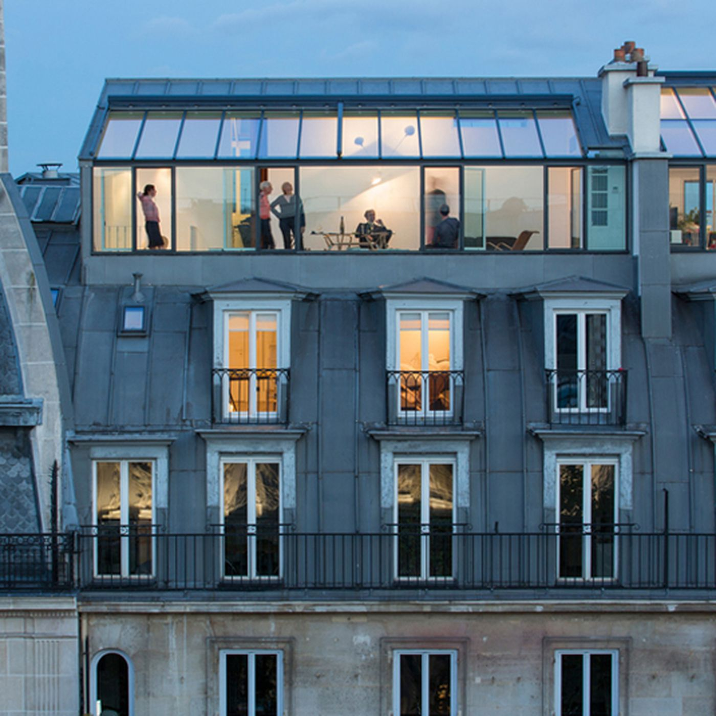 Paris Apartments Modern And Airy Used To Be A 19th Century Photo Studio Curbed