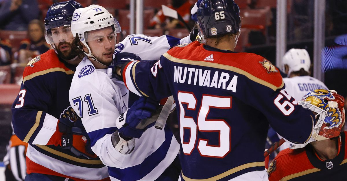 Tampa Bay Lightning at Florida Panthers: Folks, we made it to the end of the season - Raw Charge