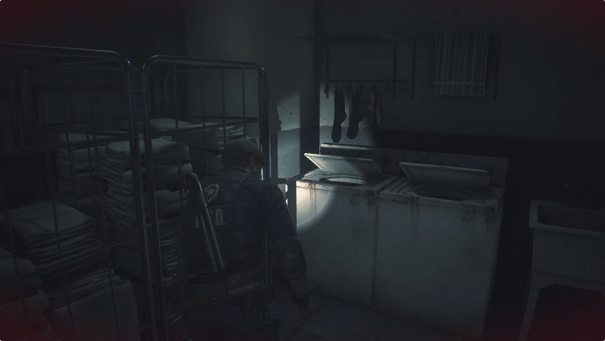 Resident Evil 2 Linen Room