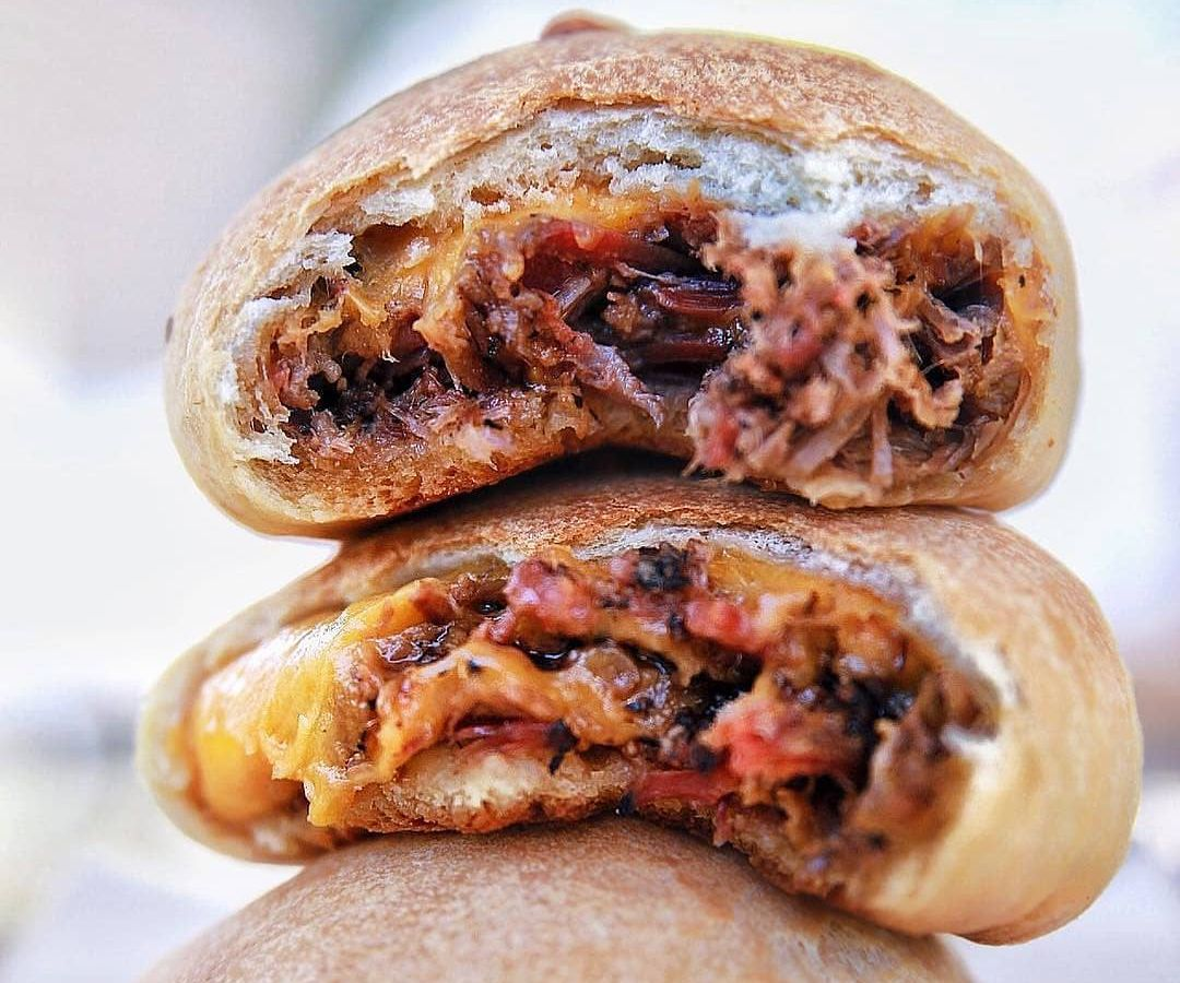 Barbecue kolaches from Kerlin BBQ