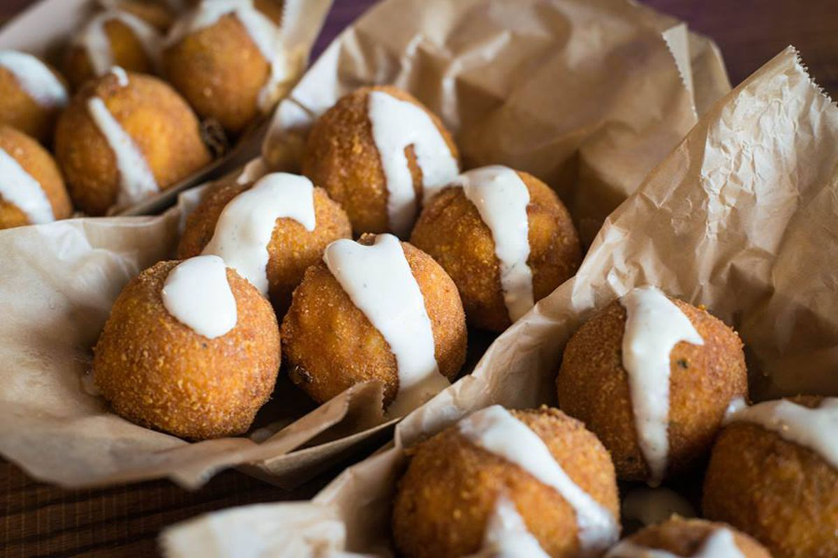 Fried Mac And Cheese Balls From Peli Peli Peli Peli Facebook