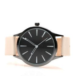 """<b>Cold Picnic</b> colorblock leather watch, $88 at <a href=""""http://needsupply.com/womens/accessories/watches/colorblock-leather-watch.html"""">Need Supply Co.</a>"""