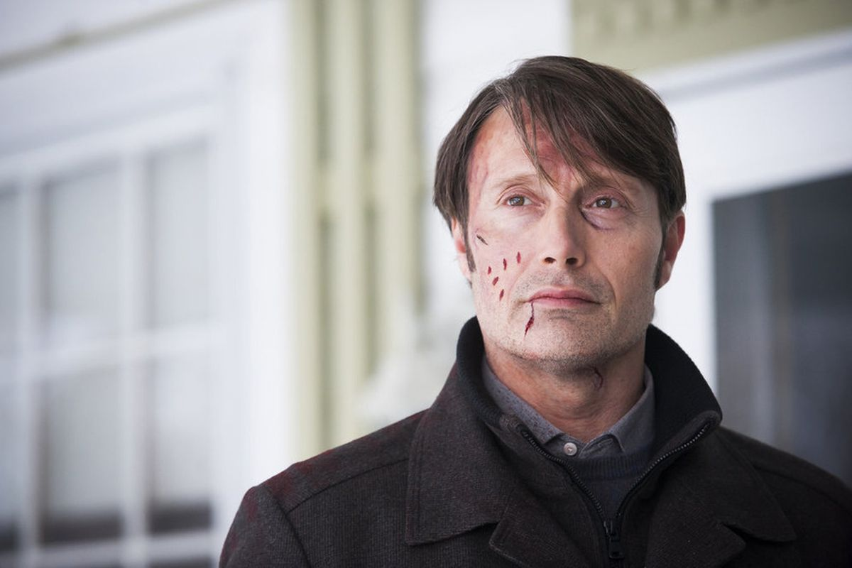 Hannibal Lecter finally gets his hero shot.