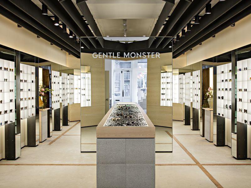 Inside the Gentle Monster store in New York City