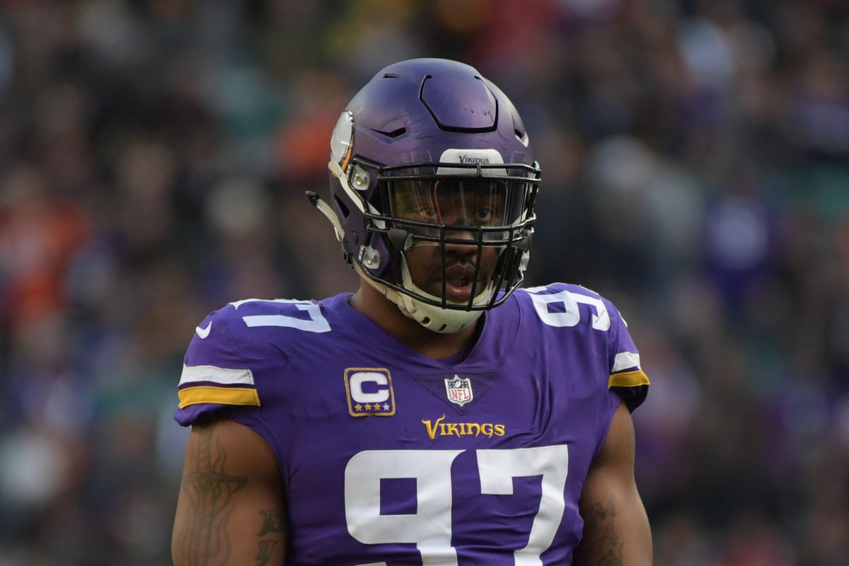 Everson Griffen OUT vs Redskins Daily Norseman