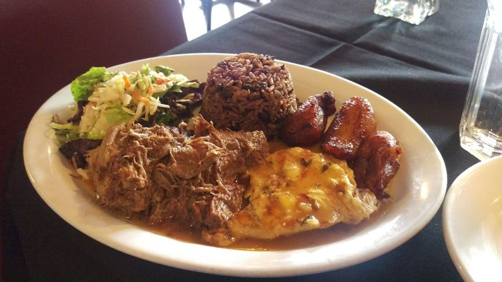 Tasting plate at Cuba Cafe