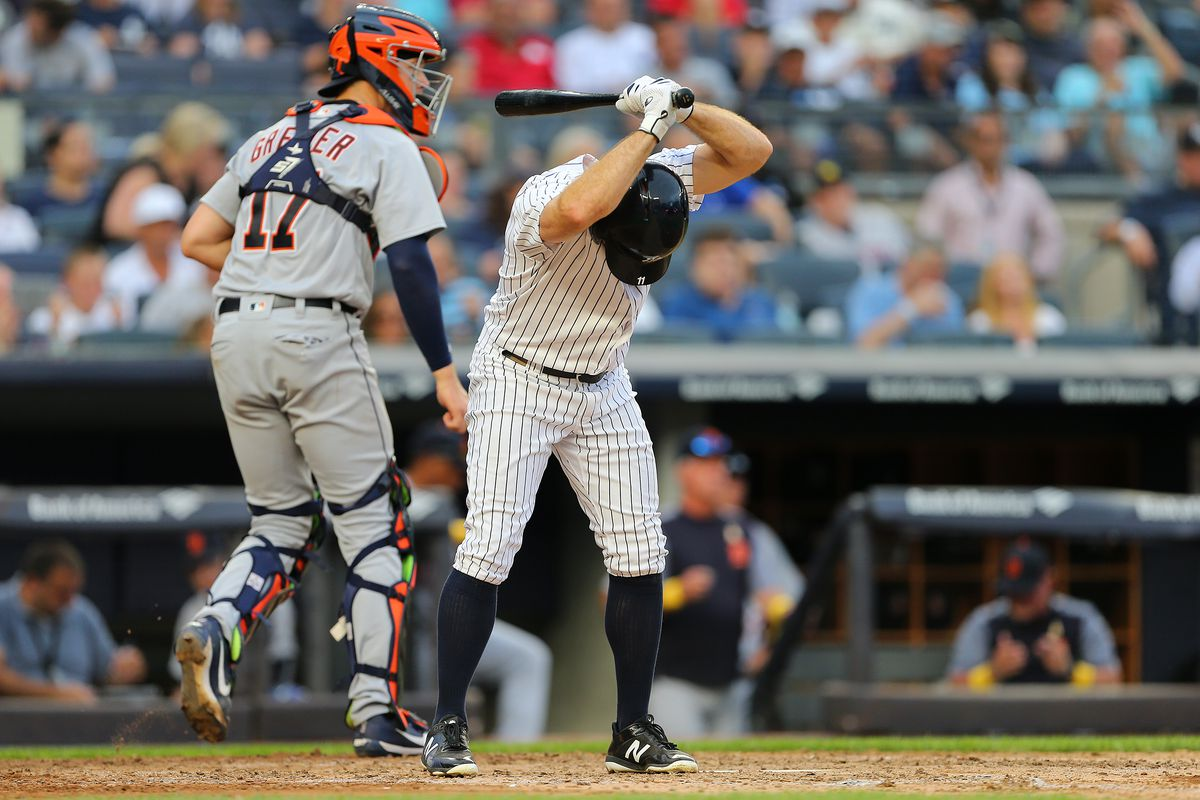reputable site a4d17 c364e Yankees finish disappointing homestand, lose to Tigers 11-7 ...
