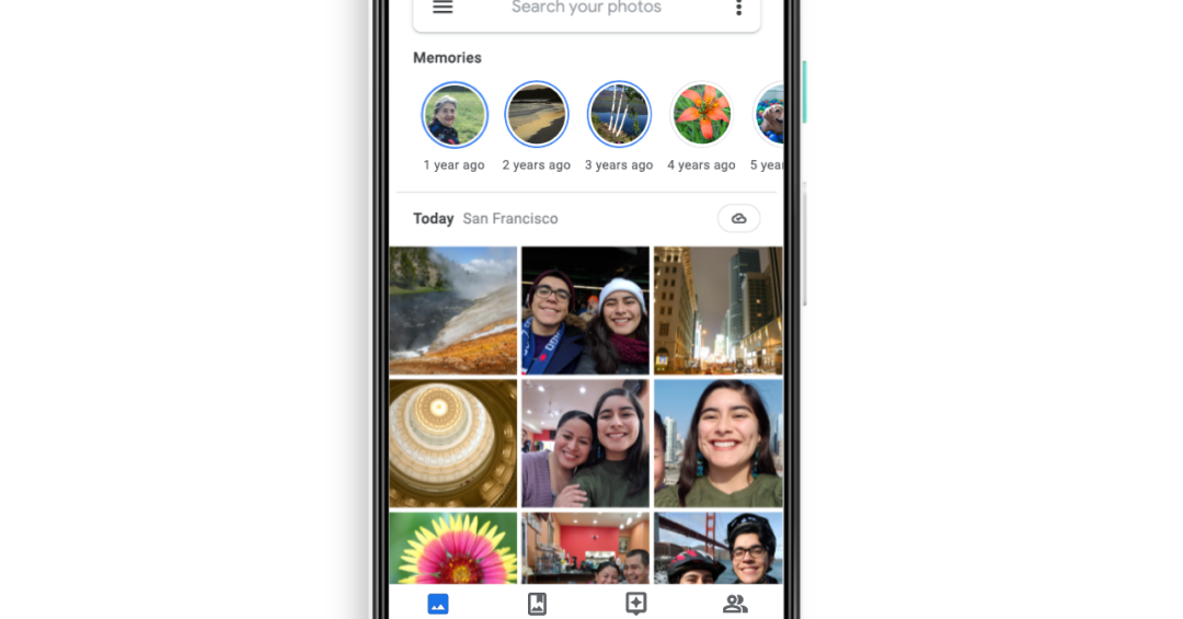 Google Photos adds Memories, a private archive that looks like Instagram Stories