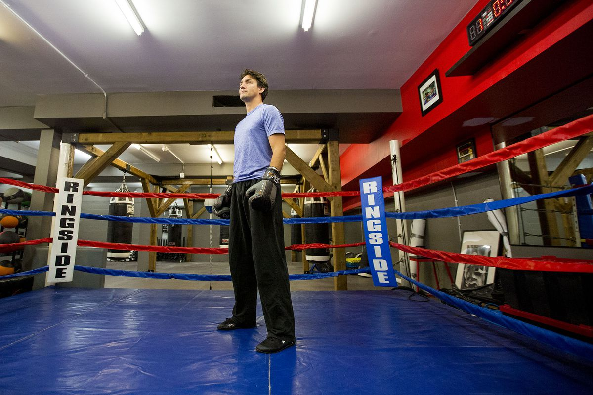 Justin Trudeau Boxing