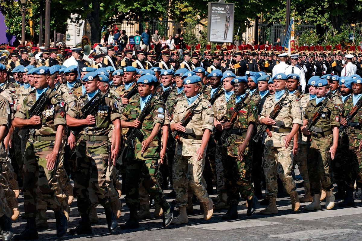 UN Peacekeepers paris (wikimedia)
