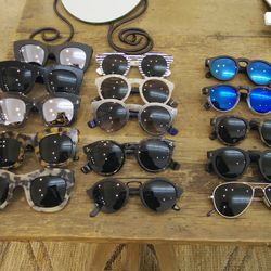 Sunglasses for $175 to $290
