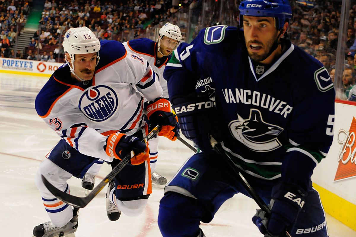 Mike Brown, facial hair enthusiast, fourth liner on this year's Oilers?