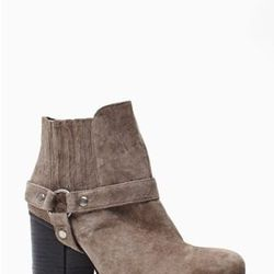 """<a href=""""http://www.nastygal.com/product/shadow-play-harness-boot/_/searchString/shoe%20cult"""">Shadow Play Harness Boot</a>, $98.00"""