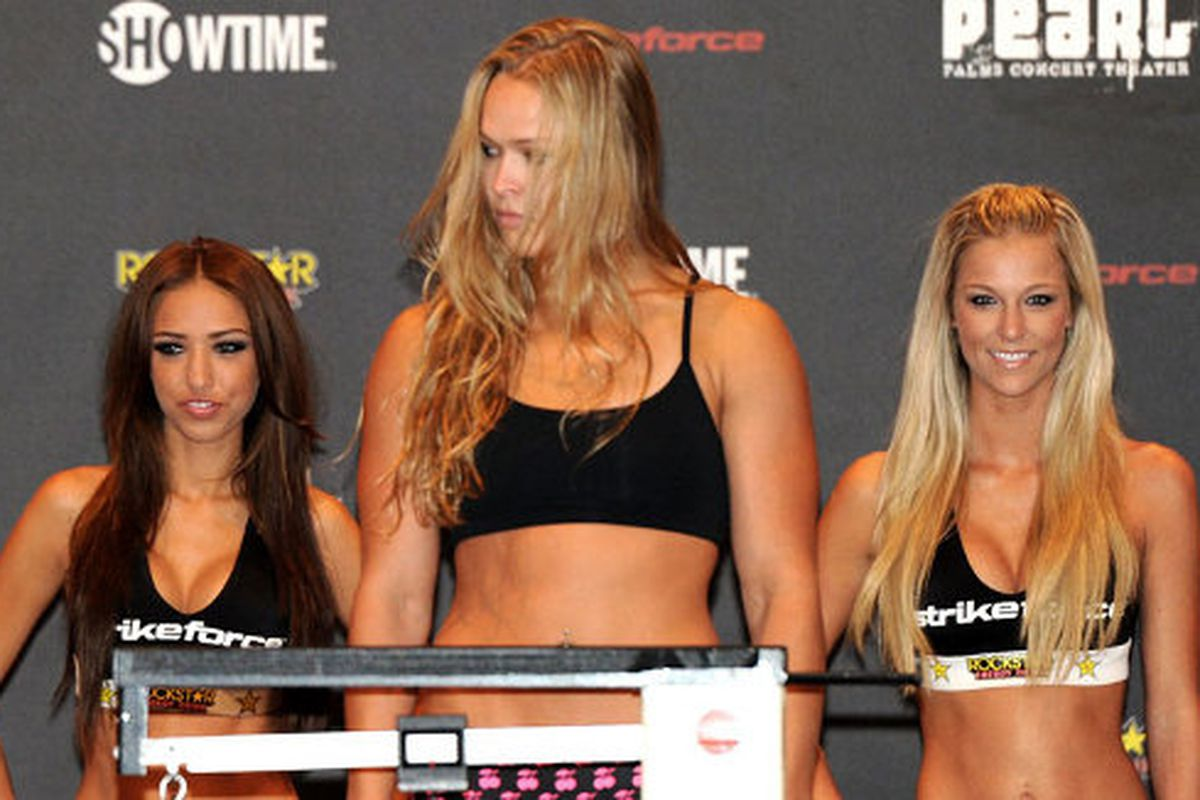 "via <a href=""http://www.fightinginsider.com/wp-content/uploads/2011/08/Julia-Budd-vs-Ronda-Rousey-Slated-for-Strikeforce-Event-in-November.jpg"">www.fightinginsider.com</a>"