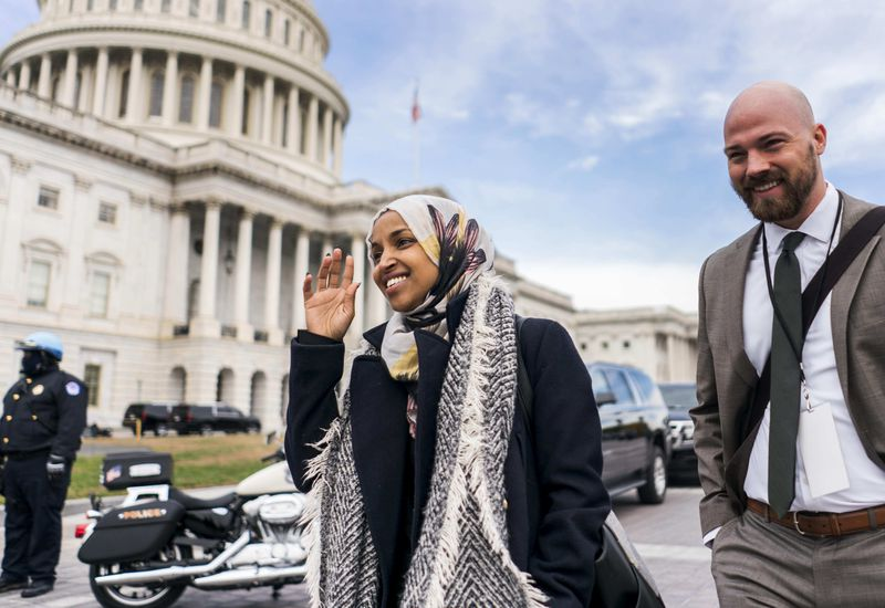 Rep-elect. Ilhan Omar is one of the first Muslim women elected to Congress.