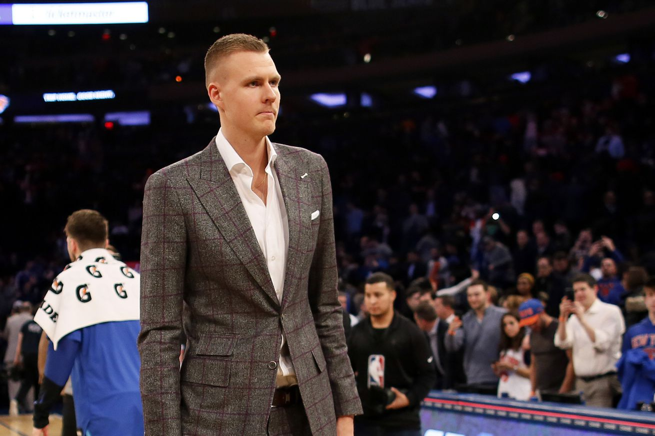 usa today 12082600.0 - Why Kristaps Porzingis was fed up with the Knicks and preferred to be traded