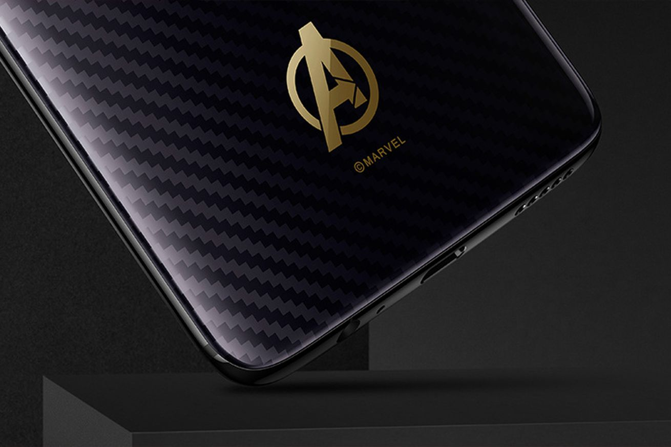here s the avengers edition oneplus 6