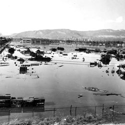 Flooding in the Salt Lake area May 2, 1952.