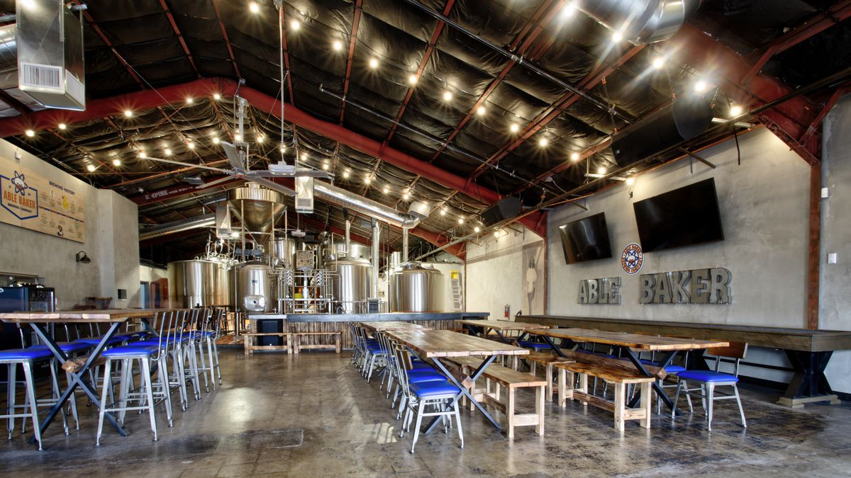 Atomic Age Themed Able Baker Brewing Co Opens A Brewery
