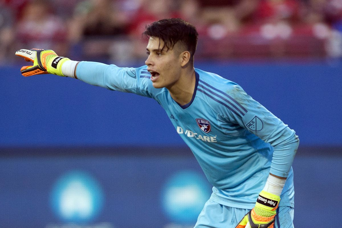 Goalkeeper Jesse Gonzalez on preliminary US Gold Cup roster