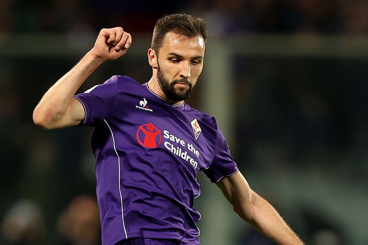 Milan Badelj is one of a number of Fiorentina players Milan are reportedly interested in signing