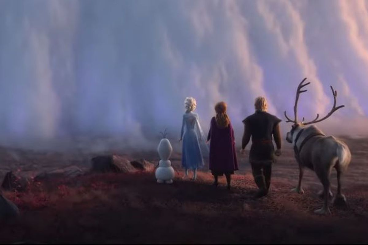 """A scene from the new full-length trailer for """"Frozen 2"""" released Tuesday."""