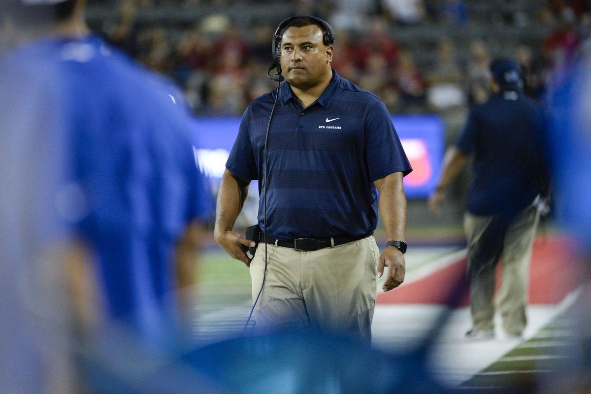NCAA Football: Brigham Young at Arizona
