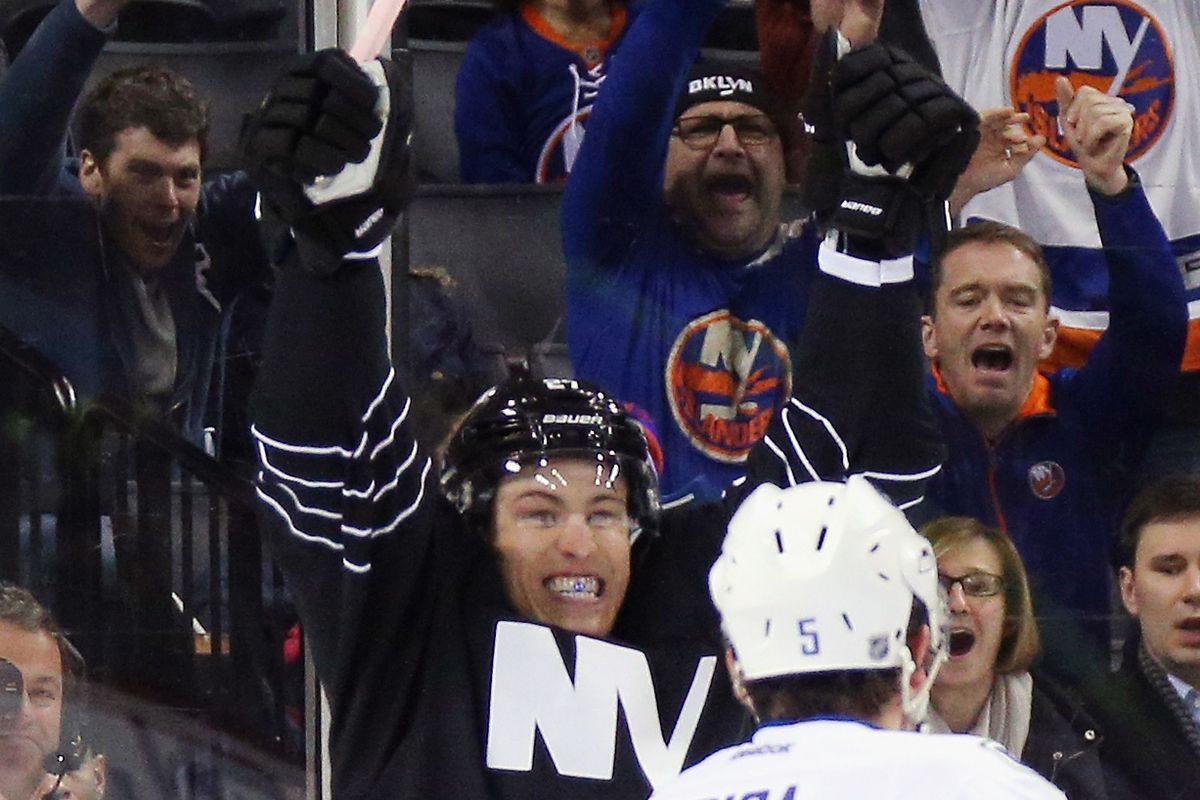 Hockey smiles.