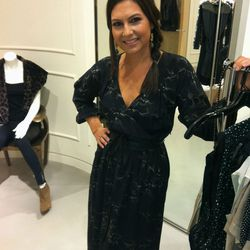 Nicole Chavez looking beautiful at Rebecca Taylor